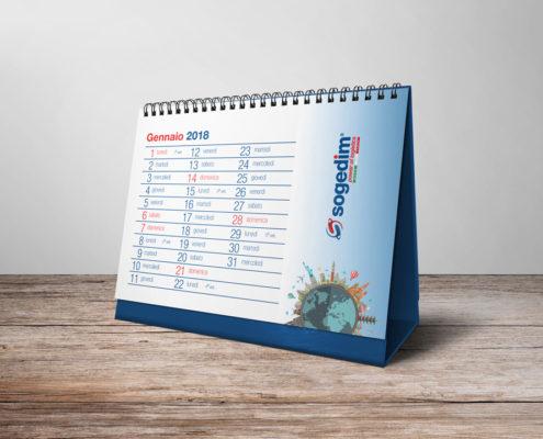Calendario per azienda di logistica