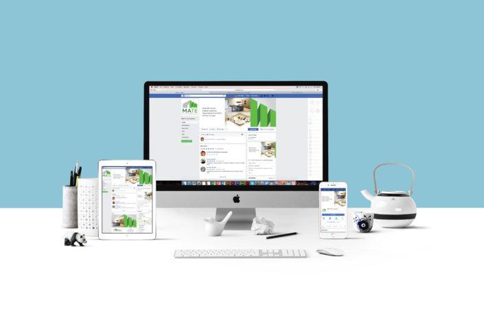Social e invio newsletter per impresa edile e di costruzioni