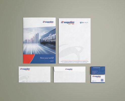 Corporate per azienda di trasporti e logistica