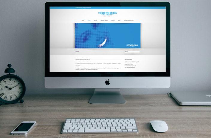 Sito web studio dentistico con pannello interno per appuntamenti