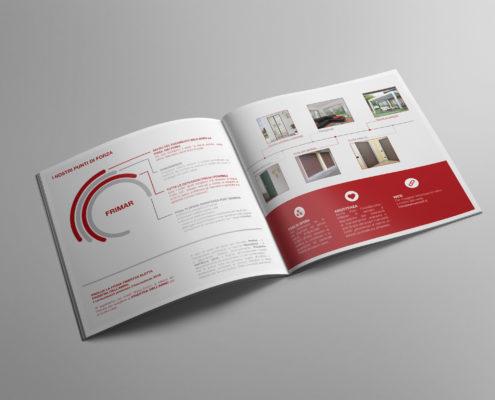 Brochure per azienda di serramenti