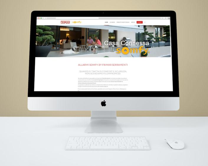 Realizazione mini sito Somfy