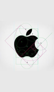 semplicita del logo apple