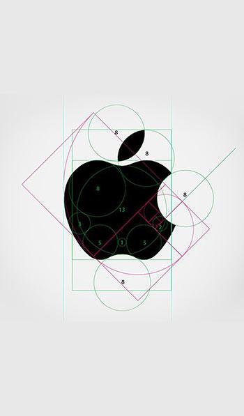 semplicita del logo apple