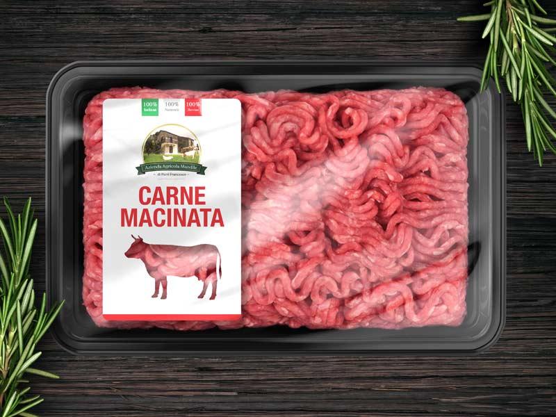 grafica packaging carne banco frigo