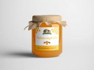 grafica etichette barattoli miele