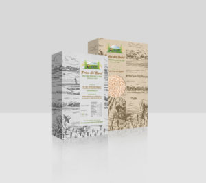 grafica packaging di prodotti alimentari
