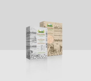 grafica packaging di prodotti alimentari