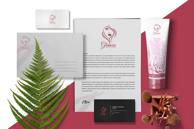 brand indentity cosmetica