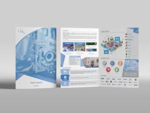 brochure azienda tecnologica milano