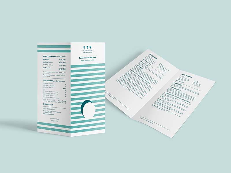 brochure per hotel e alberghi