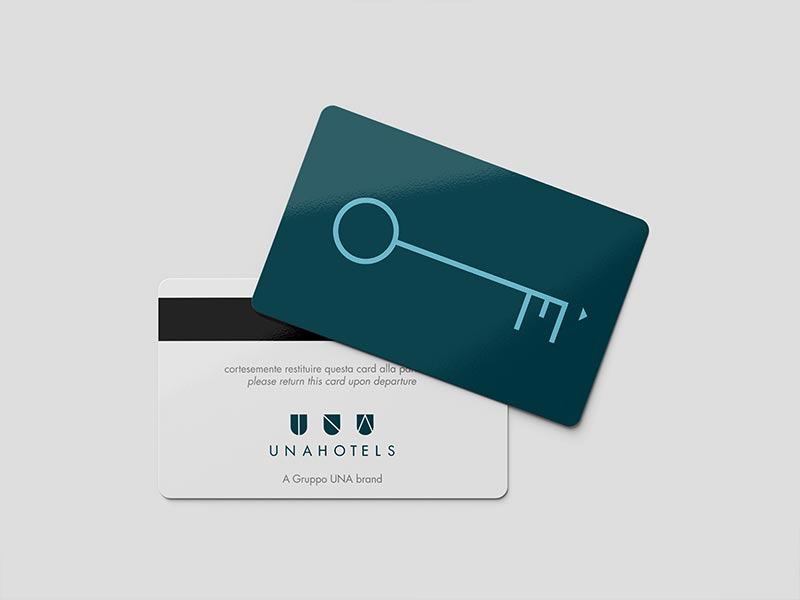 grafica key card hotel