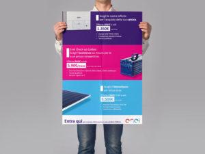 manifesti e poster aziende Milano