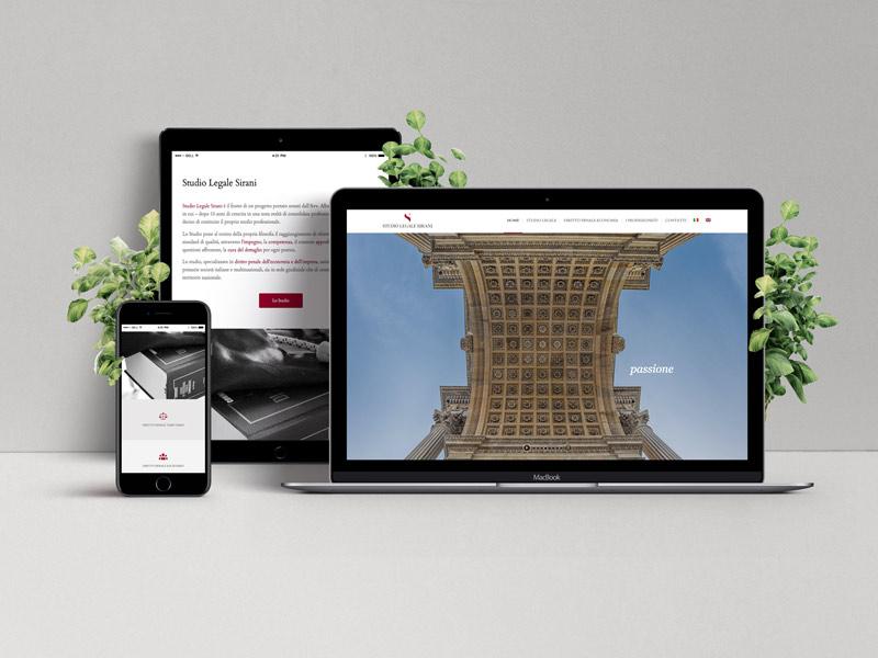 sito web avvocati Milano