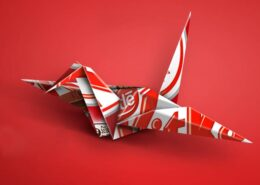 packaging origami giappone nestle