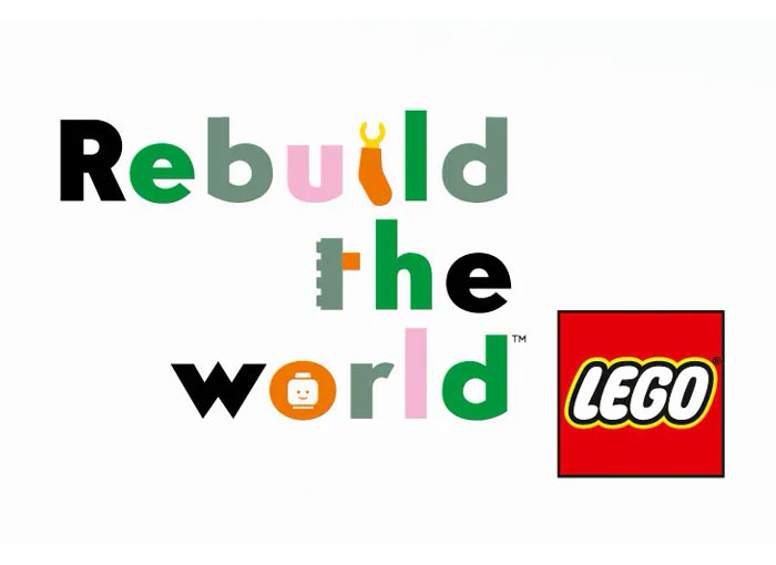 rebuild the world Lego