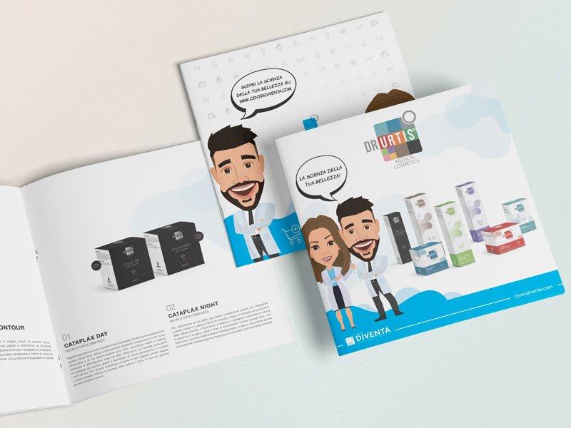 brochure grafica prodotti