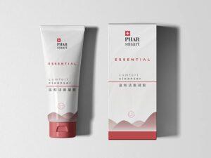 grafica per packaging cosmetici liukdesign