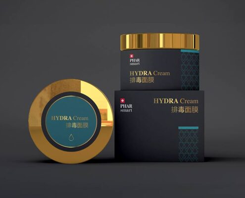 grafica per prodotti cosmetici liukdesign