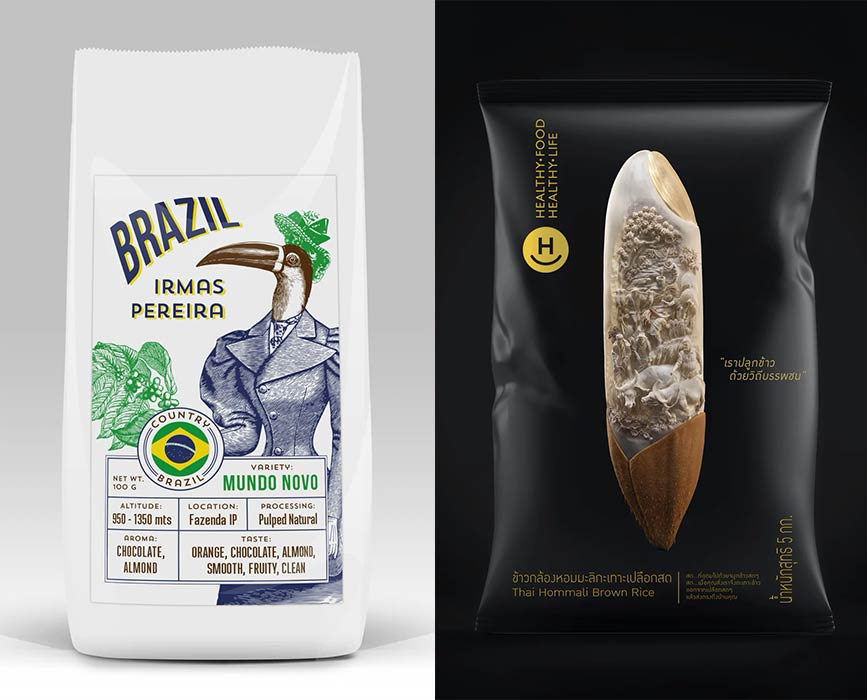 metamorfosi nel packaging