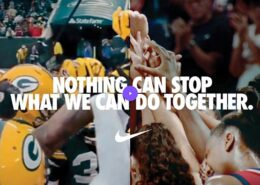 "Nuovo spot Nike, ""You Can't Stop Us"""