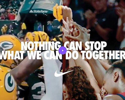"""Nuovo spot Nike, """"You Can't Stop Us"""""""