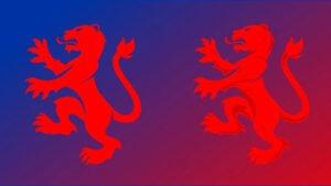 grafica stemma squadra di calcio