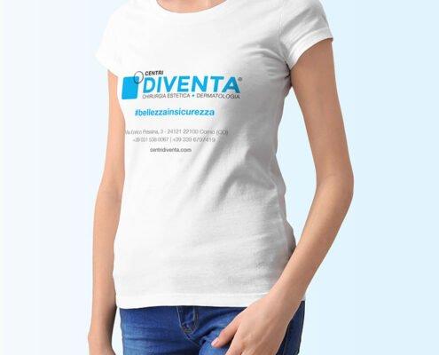 t-shirt Diventa per eventi