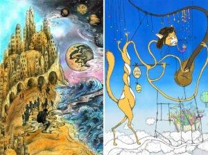 illustrazioni surrealiste