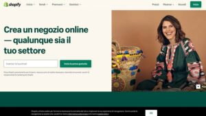 Creare un negozio online shopify
