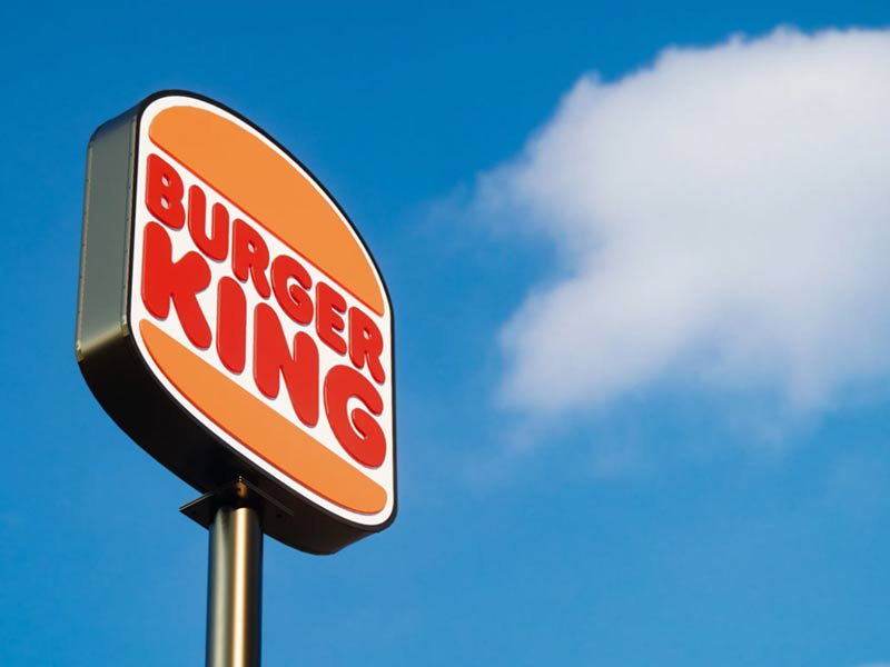 burger king rebrand graphic design