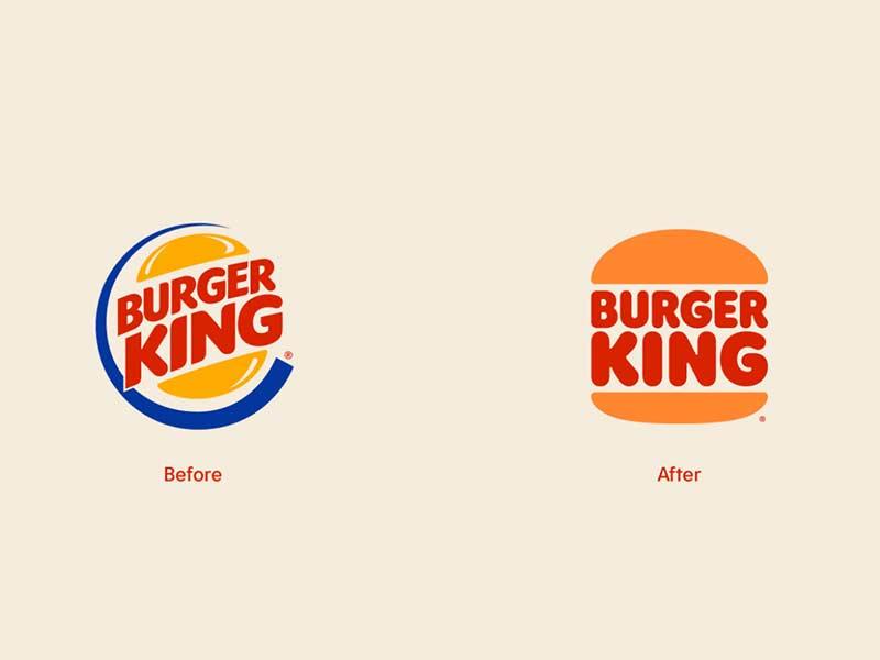 burger king confronto loghi