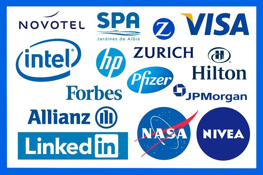 colori e mente dei consumatori blu