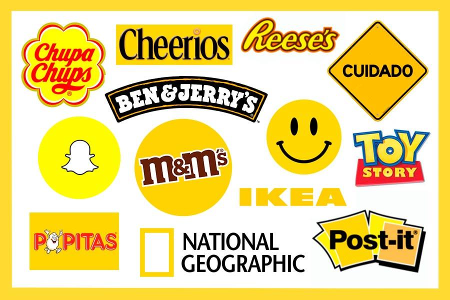 colori e mente dei consumatori giallo