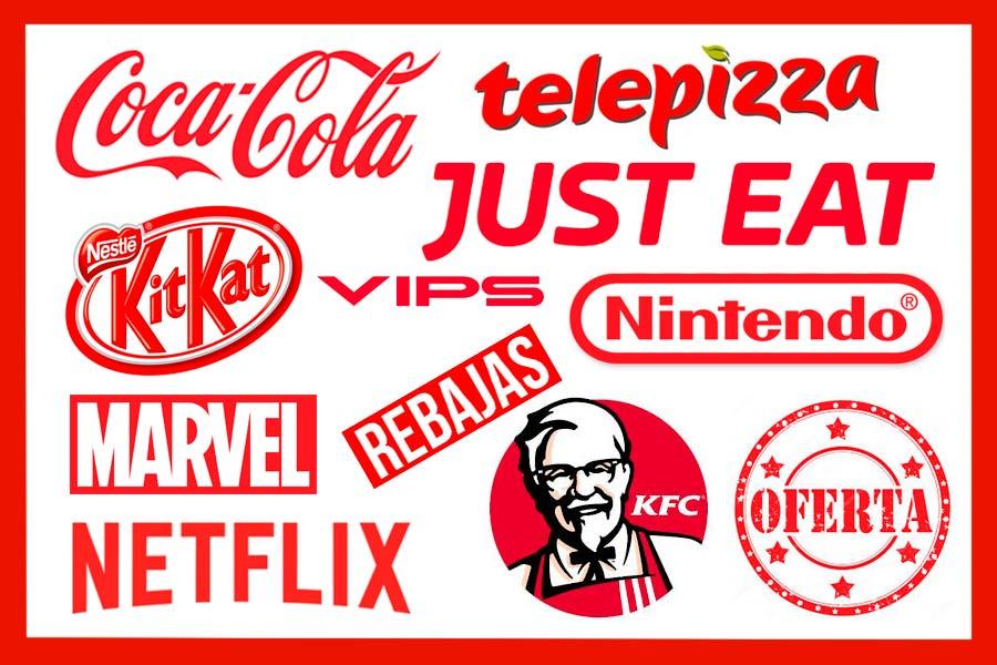 colori e mente dei consumatori rosso