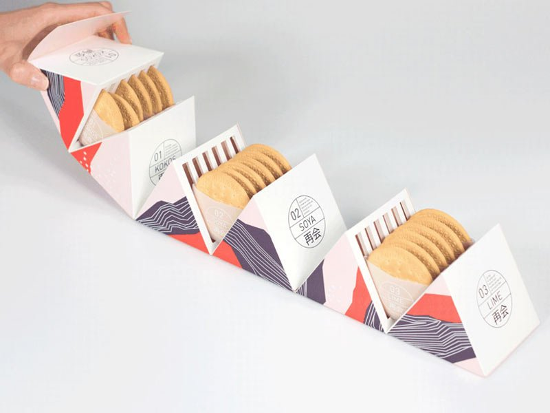 packaging di biscotti