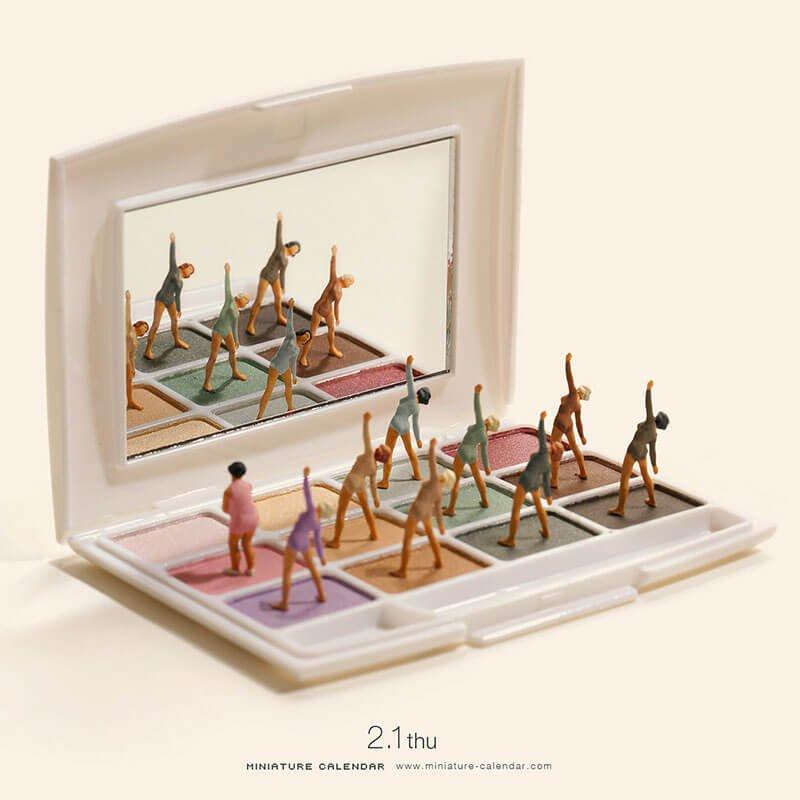 Le miniature di Tanaka