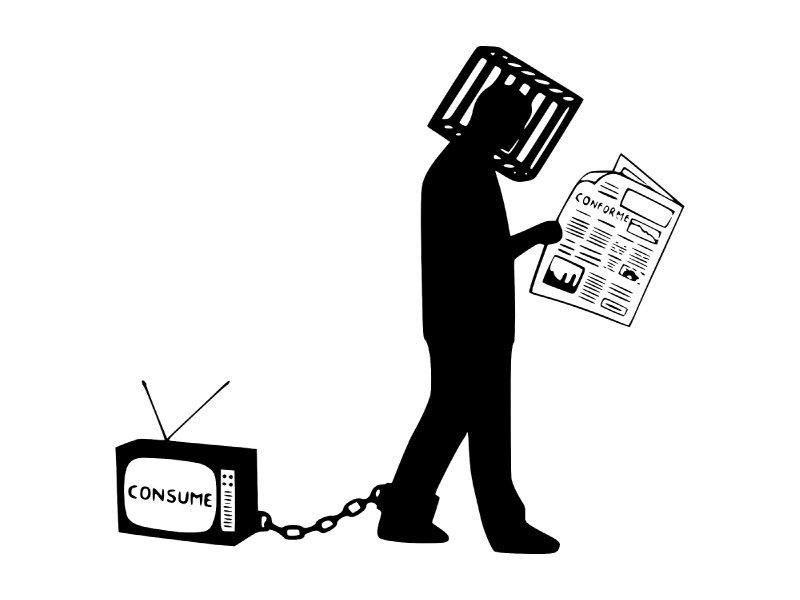 Il consumatore sopraffatto