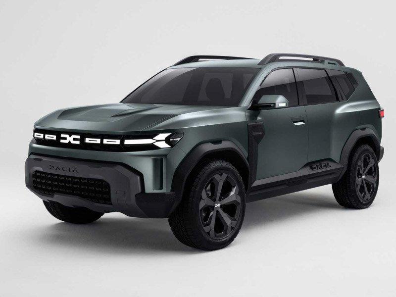nuovo logo, nuovi modelli Dacia