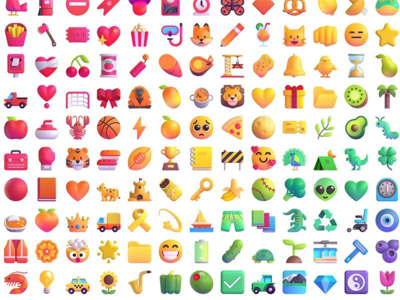 Le nuove emoji di Microsoft